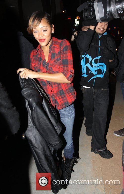 Megan Good arrives at Voyour club Los Angeles,...