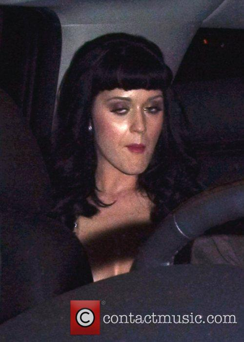 Katy Perry leaving the Grammy Awards afterparty at...
