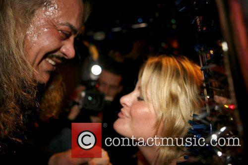 Wagner Carrilho 'The X Factor' contestant greets a...