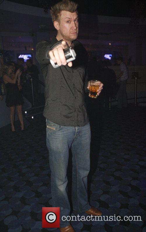 A man at the Liquid nightclub 'The X...