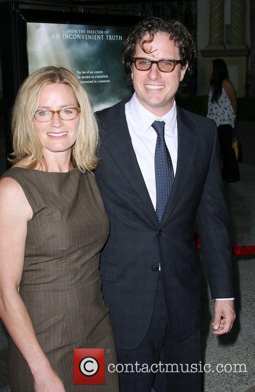 Director Davis Guggenheim and Elisabeth Shue Los Angeles...
