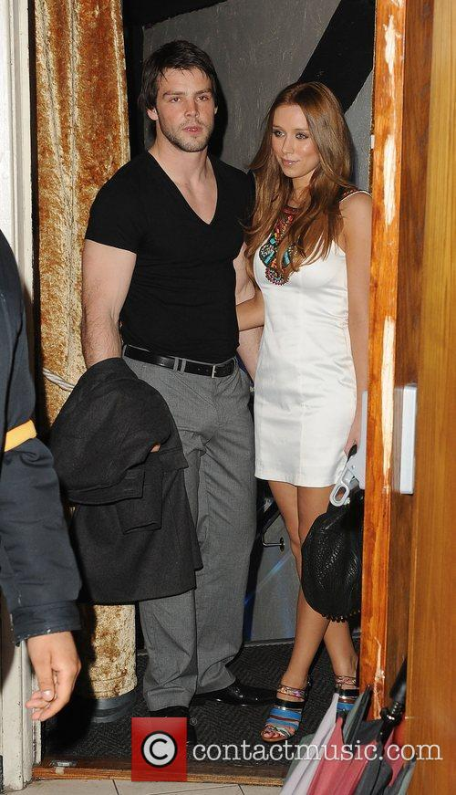 Ben Foden and Una Healy The Walkers campaign...