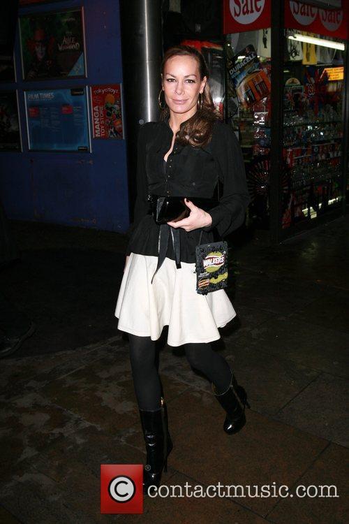 Tara Palmer-Tomkinson The Walkers campaign launch held at...