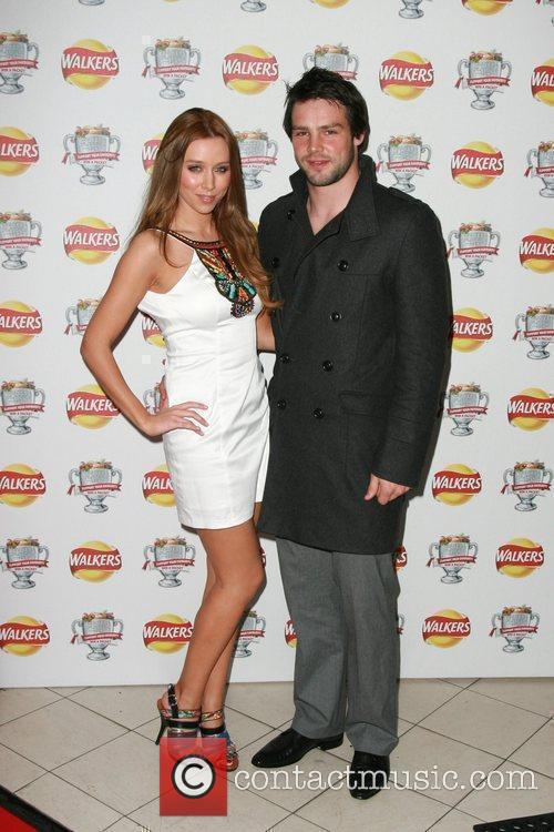Una Healy and Ben Foden The Walkers campaign...