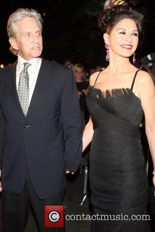 Michael Douglas, Catherine Zeta Jones and Wall Street 3