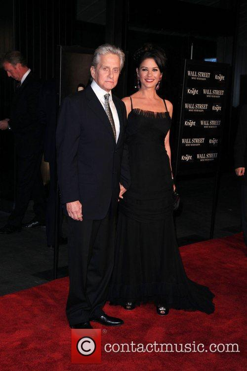 Michael Douglas, Catherine Zeta Jones and Wall Street 15