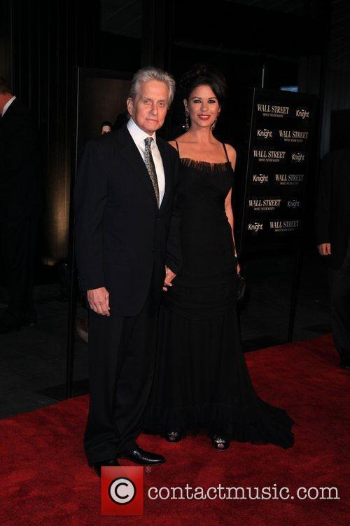 Michael Douglas, Catherine Zeta Jones and Wall Street 12
