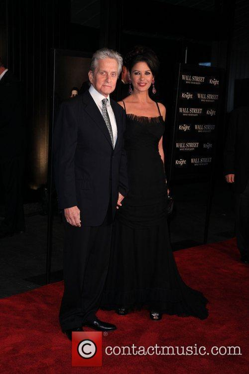 Michael Douglas, Catherine Zeta Jones and Wall Street 9