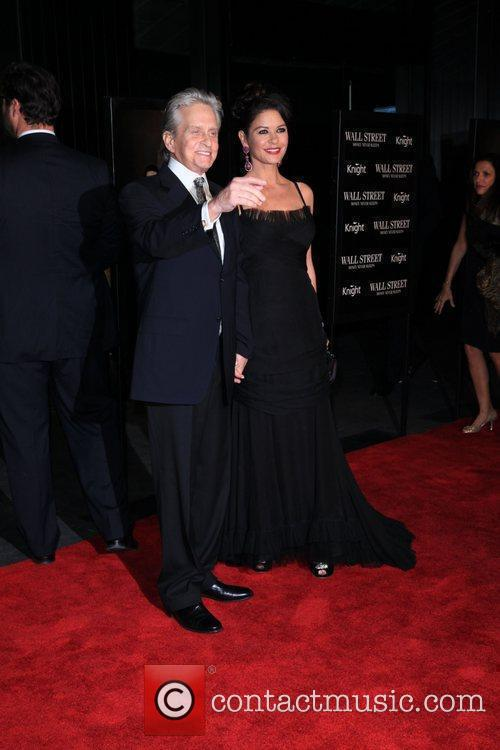 Michael Douglas, Catherine Zeta Jones and Wall Street 8