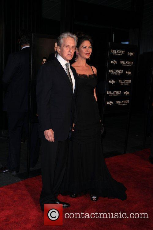 Michael Douglas, Catherine Zeta Jones and Wall Street 4