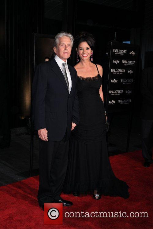 Michael Douglas, Catherine Zeta Jones and Wall Street 1