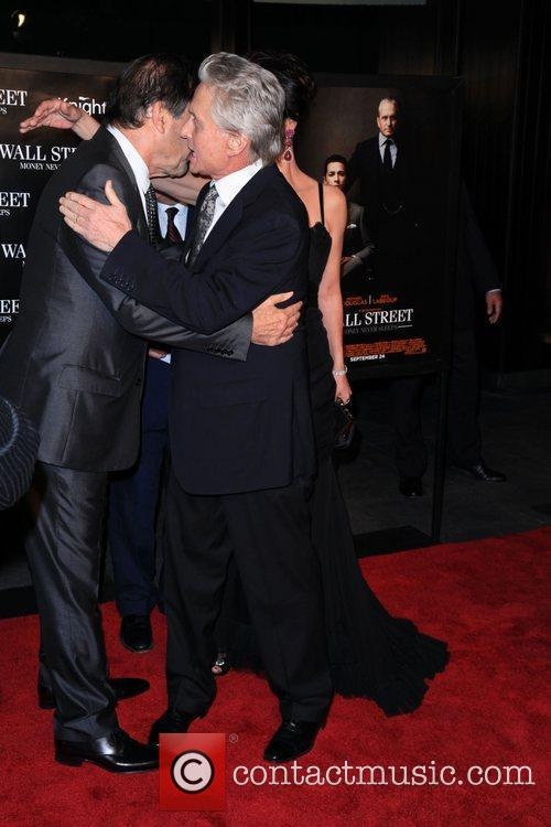 Oliver Stone, Michael Douglas and Wall Street 4