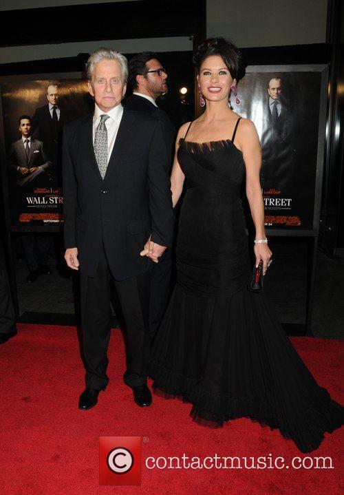 Michael Douglas, Catherine Zeta Jones and Wall Street 1