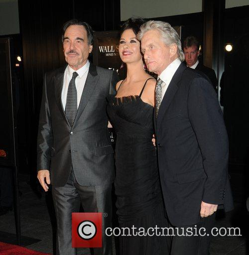 Oliver Stone, Catherine Zeta Jones, Michael Douglas and Wall Street 8