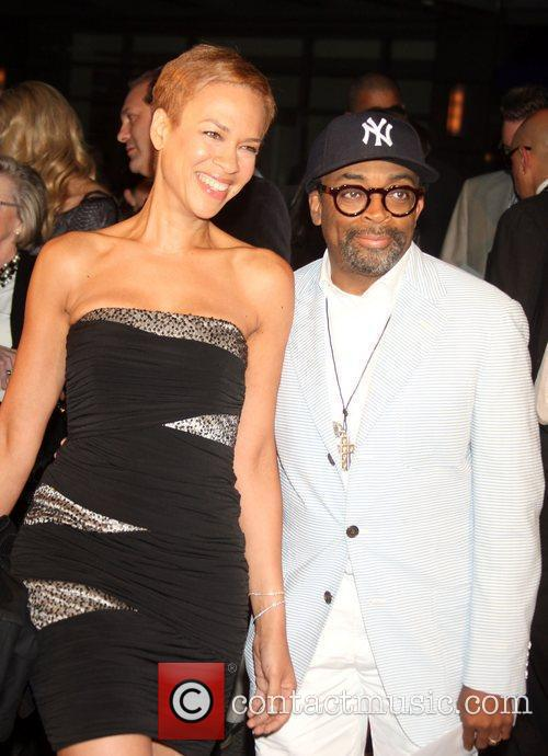 Spike Lee and wife The New York movie...