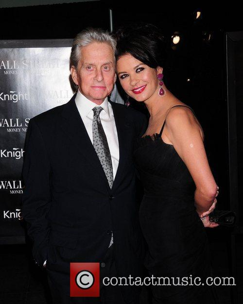 Michael Douglas, Catherine Zeta Jones and Wall Street 21