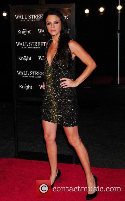 Vanessa Ferlito and Wall Street 1