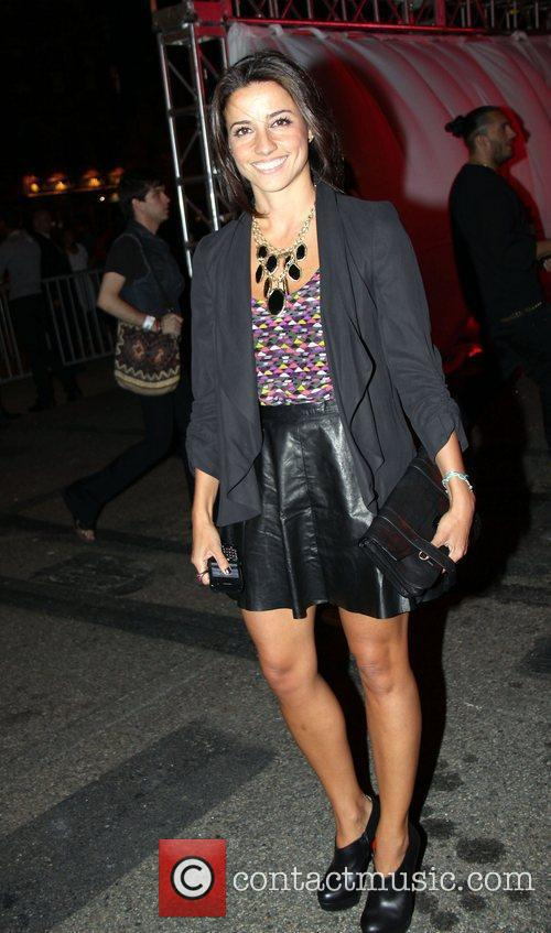 Shoshanna Lonstein  attends the Alexander Wang Carnival-Themed...