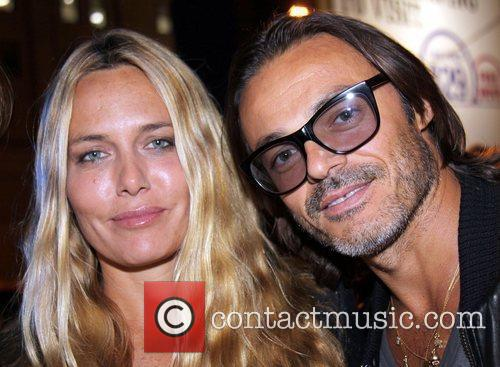 Mario and Mary Sorrenti attend the Alexander Wang...
