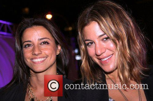 Shoshanna Lonstein and Dani Stahl attend the Alexander...
