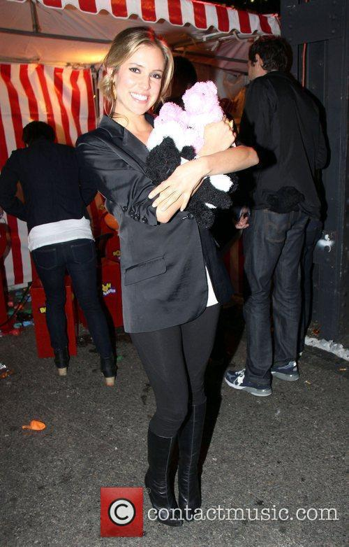 Attends the Alexander Wang Carnival-Themed After-Party Delivers Bumper...