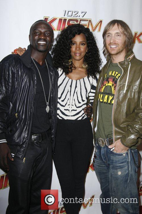 Akon and Kelly Rowland 5