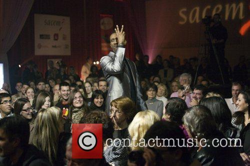 Wayne Beckford performing in concert at the Carlton...