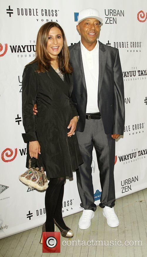 Meera Gandi and Russell Simmons 2
