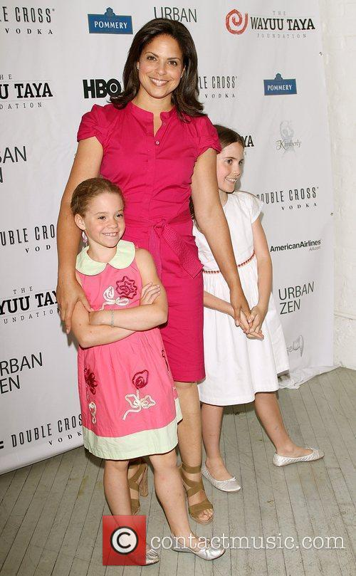 Soledad O'Brien with her daughters  The 7th...