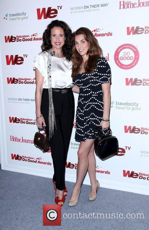 Andie Macdowell and Rainey Qualley 2