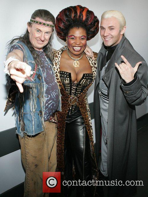 Kevin Kennedy, Brenda Edwards and Jonathan Wilkes of...