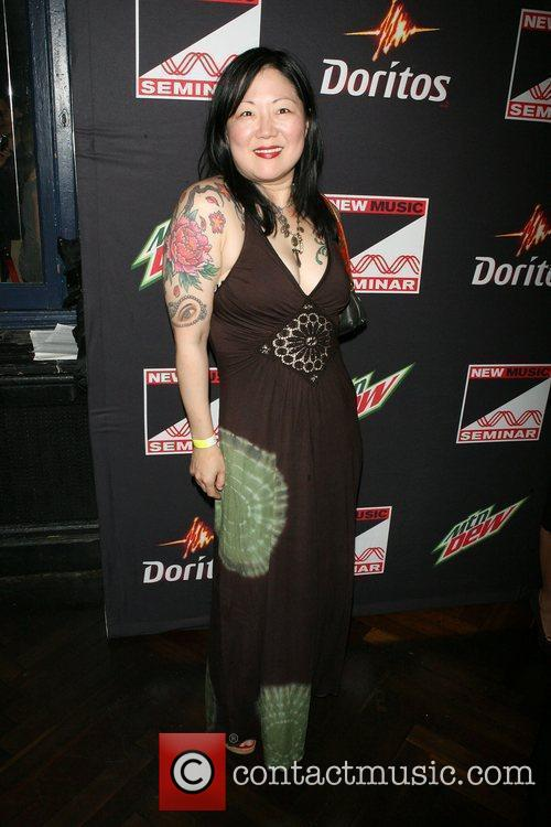 Margaret Cho ,  at the opening night...