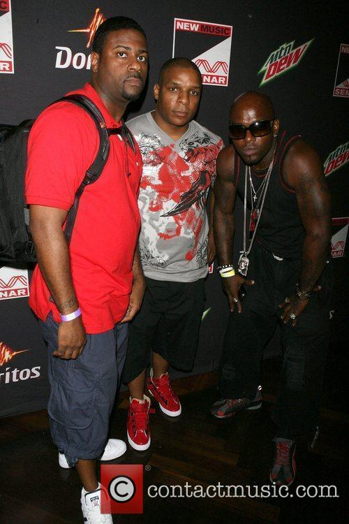 Naughty By Nature, Dj Kay Gee, Vin Rock and Treach 4