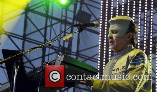 Devo performing live at the 2010 KROQ Weenie...