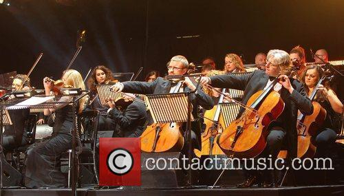 Orchestra 'Welcome To Wales' concert at the Millennium...