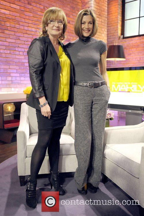 Marilyn Denis and Wendie Malick 'Hot in Cleveland'...