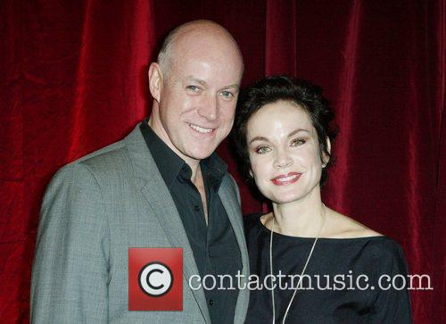 Sigrid Thornton and Anthony Warlow The opening night...