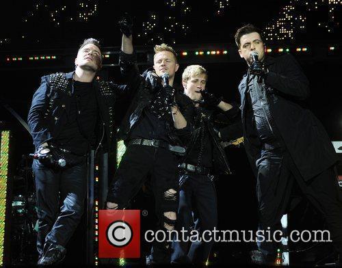 Shane Filan, Nicky Byrne, Kian Egan and Mark...