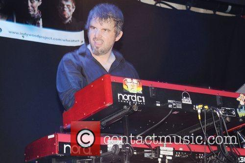 Michael Bellar of Wheatus performs on stage at...