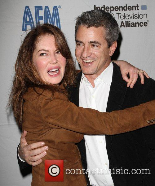 Lara Flynn Boyle and Dermot Mulroney 6