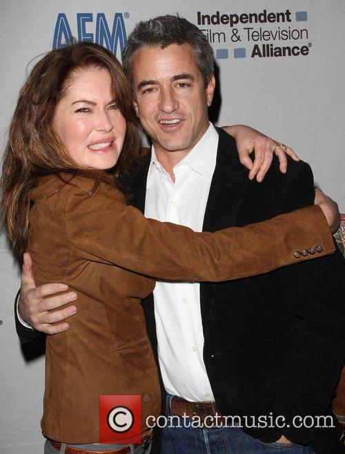 Lara Flynn Boyle and Dermot Mulroney 7