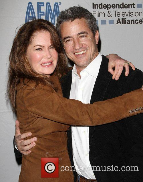 Lara Flynn Boyle and Dermot Mulroney 5