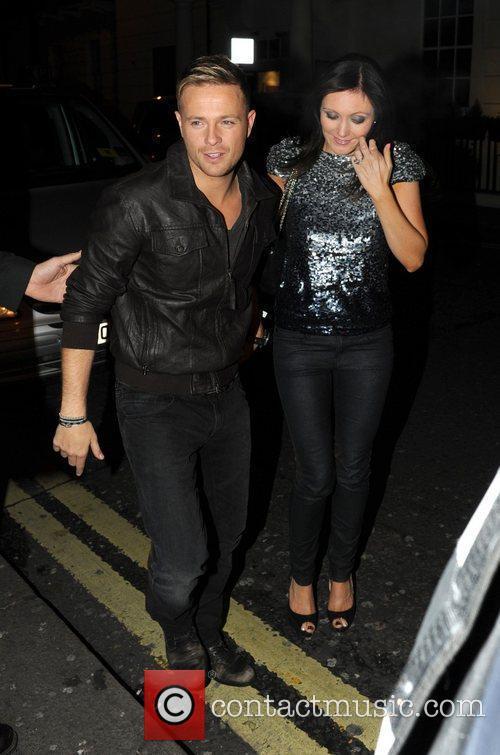 Nicky Byrne and Georgina Ahern arrive at Whisky...
