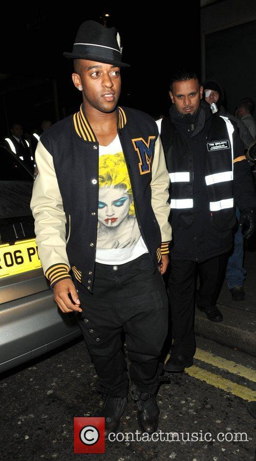 Oritse Williams arrives at Whisky Mist club in...
