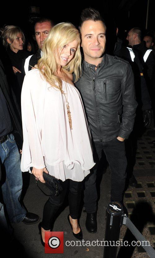 Shane Filan and his wife Gillian arrive at...