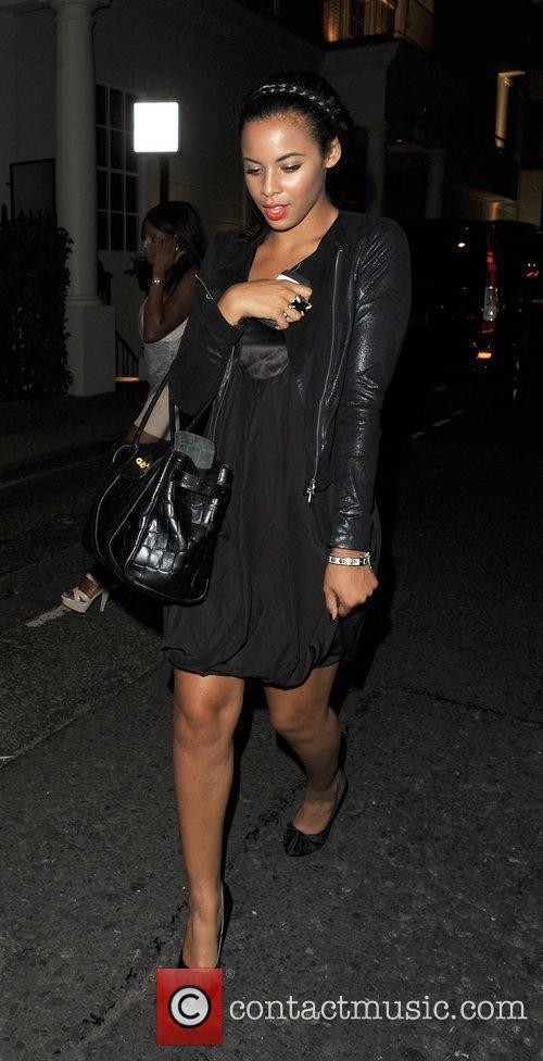 Rochelle Wiseman from The Saturdays at Wisky Mist...