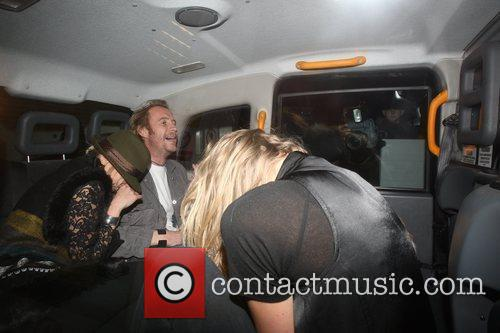 Rhys Ifans at Whisky Mist club London, England