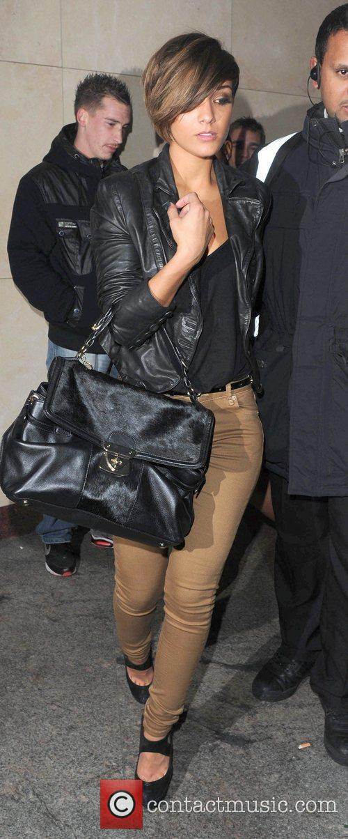 Frankie Sandford leaves Whisky Mist London, England