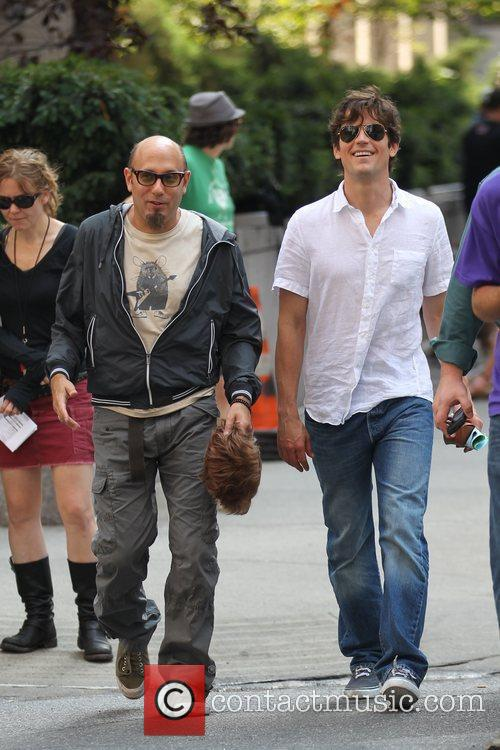 Matt Bomer and Willie Garson 1