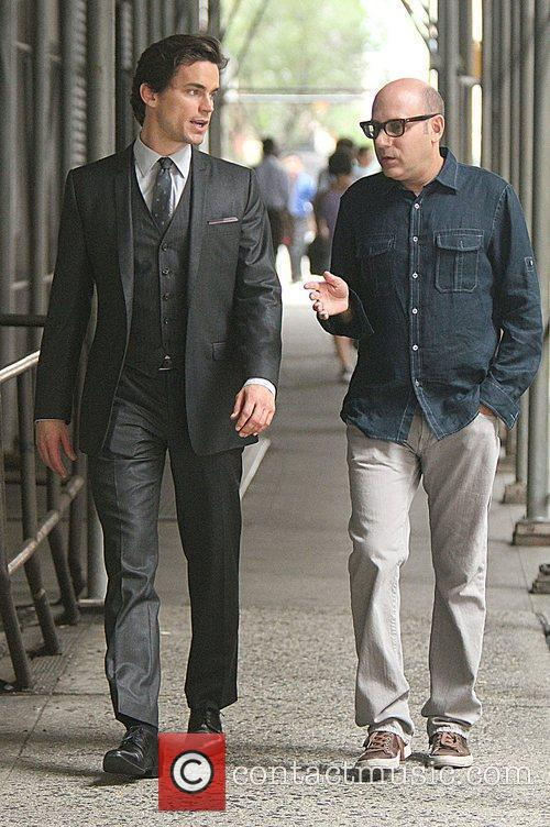 Matt Bomer and Willie Garson 5